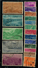 India 1955 FYP Five Year Plan complete fine used set
