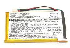 1250mAh Battery for Garmin Nuvi 200, 200W, 250, 205T, 205W, 255, 361-00019-11