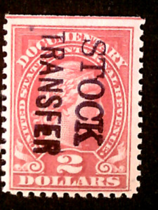 U S stamp revenues Scott RD13 PROVISIONAL issue mint ex.Joyce collection