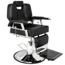 New Heavy Duty Hydraulic Recline Barber Chair Salon Beauty Adjustable Equipment
