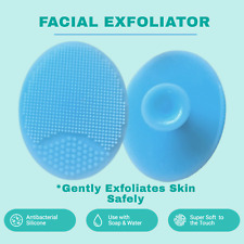 Gentle Facial Cleansing Silicone Brush Blackhead Scrub *1st Postage**