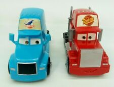 Disney Pixar Cars semi lot Mack truck, the King's Hauler Dinoco