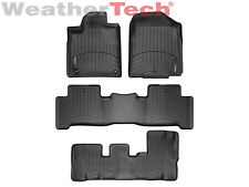 WeatherTech Floor Mats FloorLiner for Acura MDX- 1st/2nd/3rd Row - Black