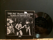 "PAT TRAVERS BAND  Makes No Difference  7""  FLEXI."