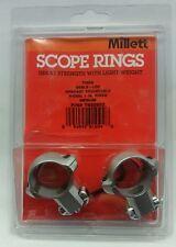 Millett Tikka Angle-Loc Windage Adjustable Ring 1-Inch - Medium, Nickel TK00902