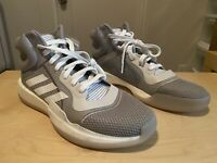 Adidas Men's Marquee Boost Basketball Shoes Grey G26744 New Size 11.5 Grey White
