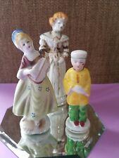 Set 3 Vintage Ceramic Figurines 2 Ladies / Asian Boy Occupied Japan