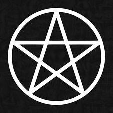 Pentacle heavy metal rock mythique gothique OEM sticker voiture autocollant JDM 8cm