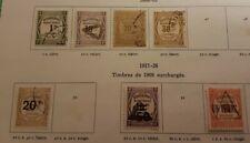 Timbre France Taxe N°43/46-49-51-63 Oblitérés