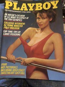 Australian Playboy Magazine November 1983 Been In Storage Since New