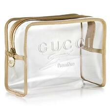 GUCCI By Gucci Premier Makeup Cosmetic Bag Toiletry Shaving Dopp Kit  !