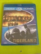 La delgada linea roja y Tigerland en Blu ray. Precintada