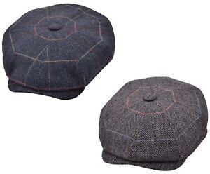 Gladwinbond Mens Baker Boy Caps newsboy Hat Country Style Gatsby Hat/Flat Cap