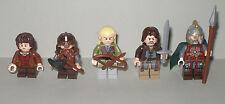 LEGO LO HOBBIT/Signore degli anelli Frodo, Gimli, Legolas, Aragona e Eomer