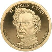 Gem Proof Deep Cameo 2010-S Franklin Pierce Presidential Dollar