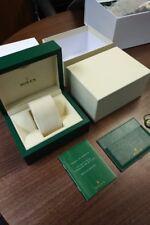 ROLEX GMT WATCH BOX 2013 MANUALS ,TAG & CARD HOLDER NO WATCH 27082018