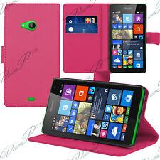 Etui Housse Portefeuille Support Video ROSE Microsoft Nokia Lumia 535/ 535 Dual