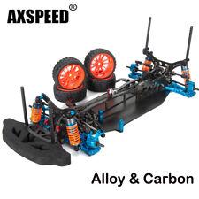 Alloy & Carbon 4WD Drift Racing Car Frame Body Kit 1/10 RC Car Belt Drive
