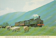 TRAIN VAPEUR PROVENCE SAINT ANDRE LES ALPES