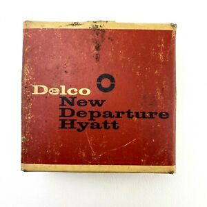 Delco NDH Ball Bearing 55509 New Old Stock Made In USA New Departure Hyatt