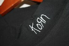 Xl * Nos vtg 90s Korn Issues embroidered t shirt * goth nu metal grunge