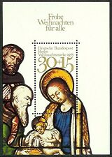 STAMPS WEST BERLIN SG MS B565 CHRISTMAS 1978 MNH