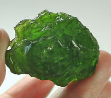 92.4Ct Natural Russian Chrome Green Diopside Facet Rough Specimen YDS1802