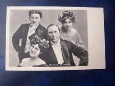 The Stanford Quartette  -  Theatre / Music Hall Theatrical History