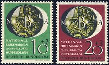 BUND 1951, MiNr. 141-142, 141-42, postfrisch, Mi. 90,-