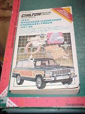 1957 -1986 JEEPSTER COMMANDO CHEROKEE WAGONEER COMANCHE J-TRUCKS REPAIR MANUAL