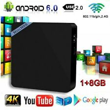 S905X Android 6.0 Smart Tv Box 1+8Gb Quad Core 4K Hd 2.4Ghz WiFi Media Player Us