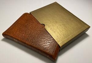 Vintage Cambridge Holy Bible, KJV, Calfskin Leather, Slide Fastener