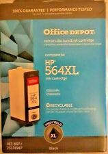 Office Depot  HP 564 XL Re-manufactured Black Ink Cartridge NEW/UNOPENED