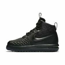 Nike LF1 Duckboot '17 Men's Sz 9.5 Triple Black AF1 Boots 916682 002 Msrp $1170+