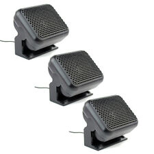 3xMini External Speaker Ham CB Radios For Kenwood Motorola ICOM Yaesu Radio 8W