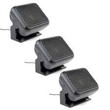 3xMini External Speaker Ham CB Radios For Kenwood Motorola ICOM Yaesu Radio 8W