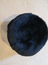 Vintage Sheared Beaver Pill Box Style Quality Hat