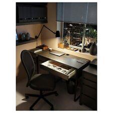 Ikea MICKE Black Brown Desk