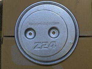89 NISSAN HARDBODY PICKUP 2.4L Z24 Metal AIR CLEANER Top Cover Silver