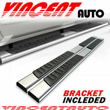 For 2015 2021 Ford F150 Super Crew Cab 6 Running Board Nerf Bar Side Step Ss H