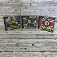 3 Playstation 1 Ps1 Grand Theft Auto Bundle London GTA 2