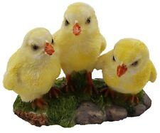 Chicken Chicks Baby Ornament Statue Figurine Garden Sculpture Décor Cute *14 cm*