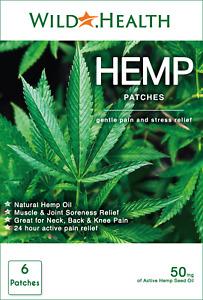 Hemp Patches. Pain, Stress, Anxiety, Arthritis & Fibromyalgia Relief