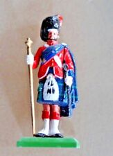Soldier Figurine Lead Highlanders William Grant & Sons Scotland Kilt Sporran
