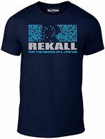 Rekall Men's T-Shirt Movie Arnold Schwarzenegger Total Recall Movie Inspired