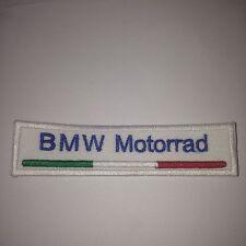 BMW Motorrad Patch Toppa Ricamata Termoadesiva