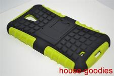 Good Protection Green Case Cover Stand For Samsung Galaxy S4 Durable Heavy Duty