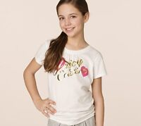 Juicy Couture Kids Girls Love Heart T-Shirt For 10 Year-Old