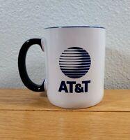 AT&T Company Logo Brand Advertising Vintage White Tea Coffee Drinking CUP / MUG