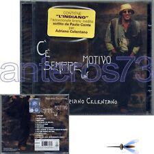 """ADRIANO CELENTANO """"C'E' SEMPRE UN MOTIVO"""" RARO CD SIGILLATO - PAOLO CONTE"""